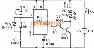 Household Appliances Infrared Remote Control Socket Circuit Diagram