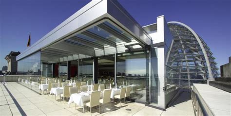 cuisine steak restaurant käfer at bundestag rooftop restaurants with a