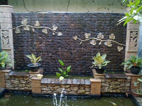 how to build a wall waterfall spectacular garden water wall ideas garden lovers club
