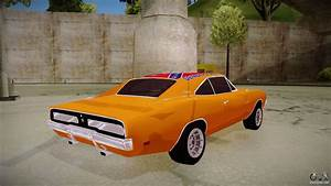 Type X Lights Dodge Charger 1969 General Lee For Gta San Andreas