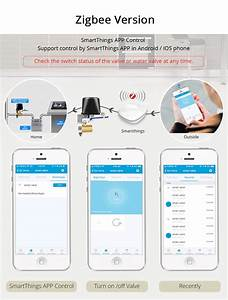 Electronic Smart Valve Garden Water Timers Wifi Irrigation