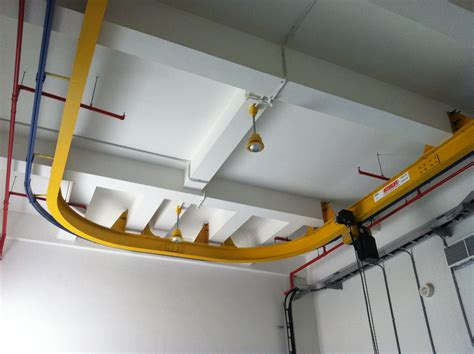 Monorail Retractable Crane System Interlift