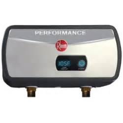 Rheem Performance Gpm Point Use Electric