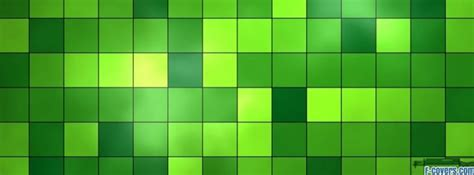 shades  green squares facebook cover timeline photo
