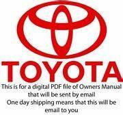 Toyota Tacoma Repair Manual