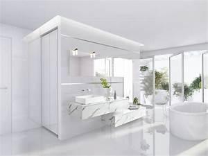 salle de bains design et contemporaine sur mesure schmidt With meuble salle de bain schmidt