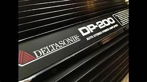 Vintage Car Audio Deltasonik Dp