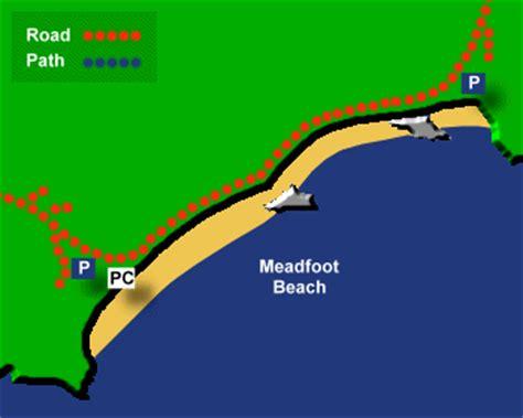 meadfoot beach information devon beach guide