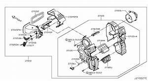Heater  U0026 Blower Unit Nissan Livina X
