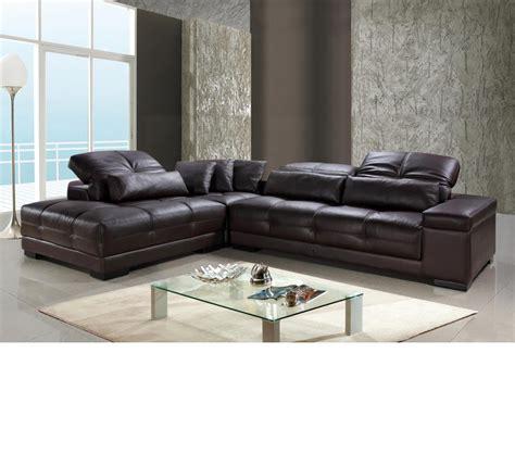 dreamfurniturecom divani casa rodeo modern leather