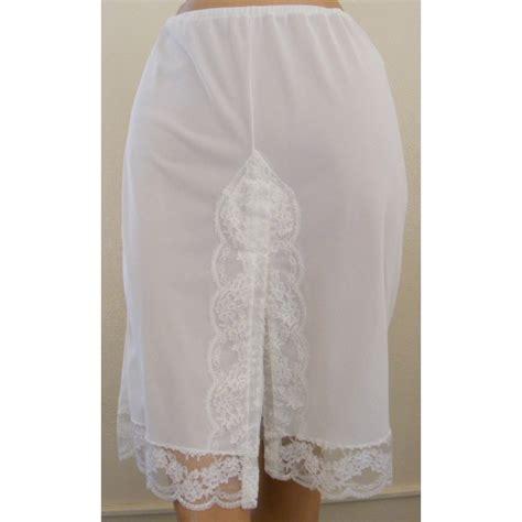 olga white panti slip olga white panti slip half elegance vintage