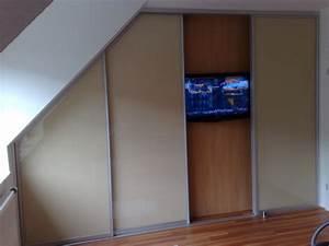 Kleiderschrank Mit Fernseher : begehbarer kleiderschrank mit dachschr ge in norderstedt stauraumfabrik ~ Sanjose-hotels-ca.com Haus und Dekorationen