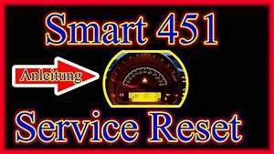 Smart Fortwo   Service Intervall Zur U00fcckstellen