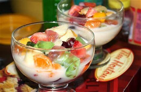 resep membuat es sop buah segar enak  aneka resep