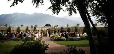 Wedding Ceremony Venues Colorado Springs Colorado
