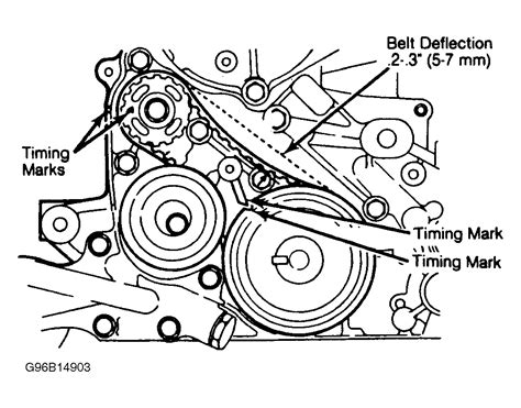 Mitsubishi Belt Diagram by 1985 Mitsubishi Galant Serpentine Belt Routing And Timing
