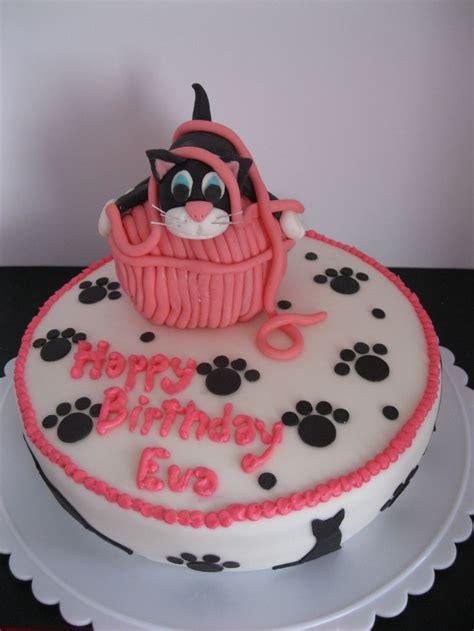 October 31, 2017 by shannon cutts 1 comment. Eva's cat birthday cake | Birthday cake for cat, Kitten cake, Gravity cake