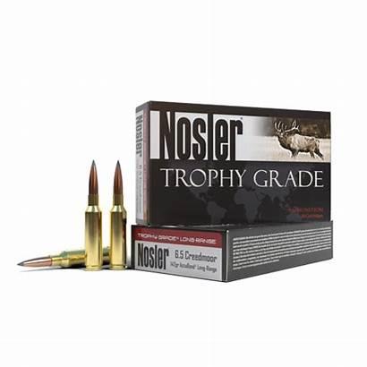 Creedmoor Ammo Range 6mm Accubond Nosler Trophy