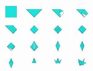 Origami Kranich Anleitung : 1000 kraniche ~ Frokenaadalensverden.com Haus und Dekorationen