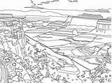 Coloring National Mountain Drawing Range Canyonlands Google 41kb 2106 Salvo sketch template