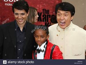 RALPH MACCHIO JACKIE CHAN JADEN SMITH THE KARATE KID FILM ...
