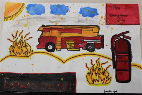 fire prevention poster contest  city  woburn