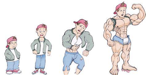 Deviantart Muscle Growth