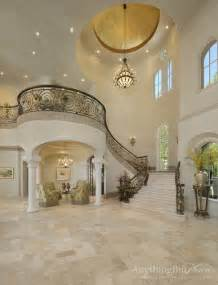 Tuscan Style Bathroom Decorating Ideas by Elegant Staircase Mediterranean Staircase Houston