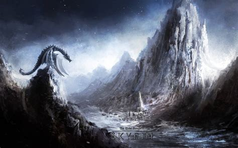 Skyrim Animated Wallpaper - skyrim wallpapers wallpaper cave