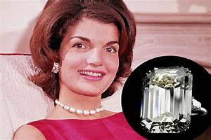 most expensive celebrity engagement rings With jackie onassis wedding ring