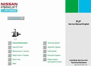 Nissan Forklift Service Manuals 2013 Download