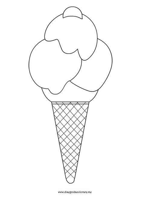 disegni cono gelato da colorare gelato da colorare disegni da colorare