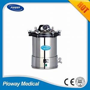 China Hospital Portable 18l Sterilizer Equipment  Steam Uv