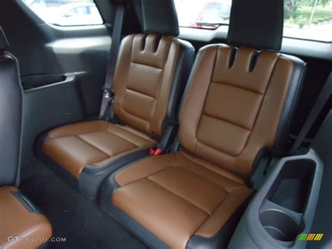 Pecan/charcoal Black Interior 2013 Ford Explorer Limited