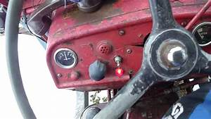 International B275 Tractor Cold Start