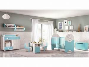 chambre bebe design bicouleur fun et coloree glicerio With chambre bébé design avec lit de fleurs