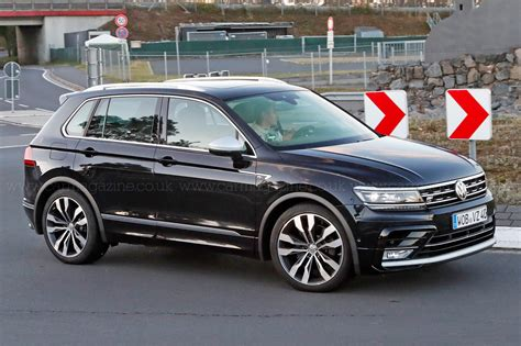 rounder  vw tiguan  spotted car