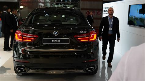 2015 Bmw X6 In The Flesh At Paris Motor Show