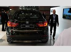 World Debut 2015 BMW X6 in the Flesh at Paris Motor Show