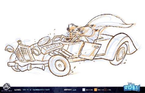 Concept Art Shows Cancelled Epic Disney Racers Nintendo
