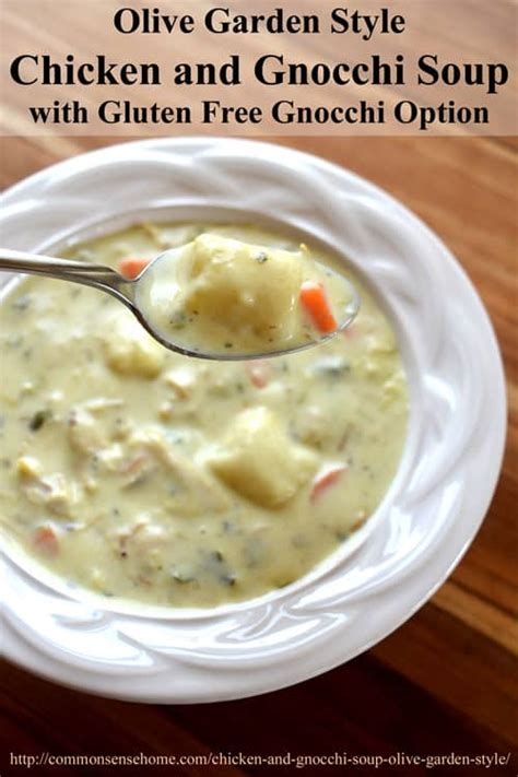 olive garden chicken and gnocchi soup olive garden style chicken and gnocchi soup