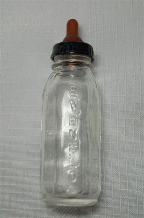 baby glass bottles vintage evenflo glass baby doll bottle