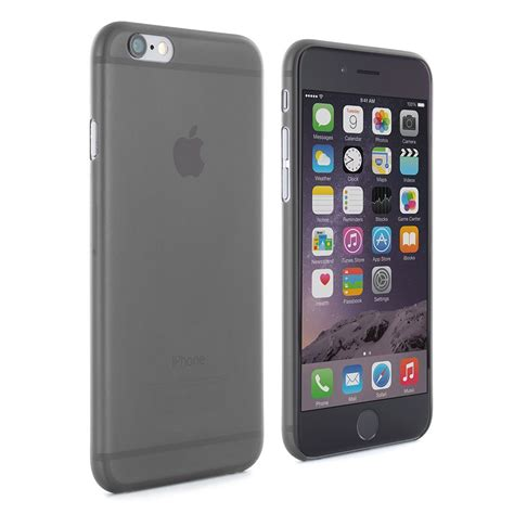 space gray iphone slimskin iphone 6 6s shell space grey proporta