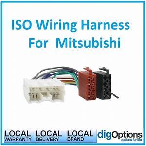 Iso Wiring Harness Loom For Mitsubishi Colt Magna Mirage Nimbus Outlander Pajer 729436061521