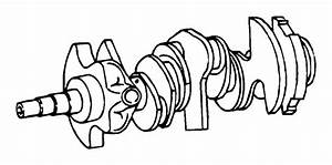 Dodge Avenger Crankshaft  Remanufactured  Engine  Output
