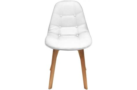 Chaise En Cuir Blanc by Chaise En Cuir Blanc Top Lot Chaise Cuir Blanc Achat