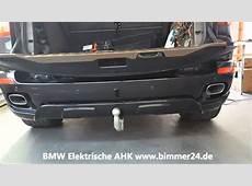 BMW X5 E70 Anhängerkupplung Elektrisch YouTube
