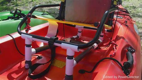diy kayak raised seat youtube