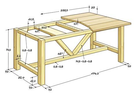 Untergestell Tisch Selber Bauen by Esstisch Selber Bauen At Tische Amuda Me