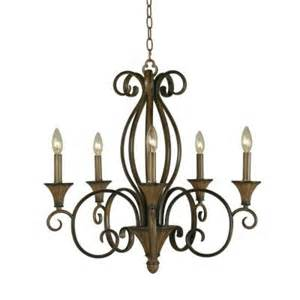 chester 5 light aruba teak chandelier